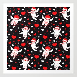 Cupidos Art Print