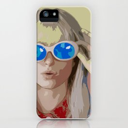 Hayley Williams Hard Times After Laughter iPhone Case