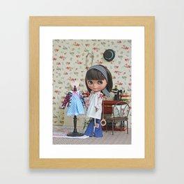 The dressmaker Framed Art Print