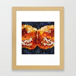 Cross Section Four Framed Art Print