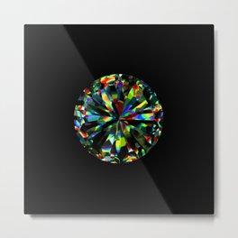 elegant fire opal gemstone Metal Print