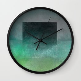 Square Composition V Wall Clock