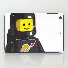 Vintage Lego Black Spaceman Minifig iPad Case