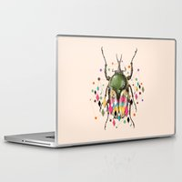insect Laptop & iPad Skins featuring Insect VII by dogooder