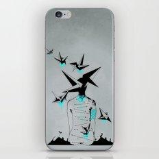 Origami's dream - A collaboration between Christelle Guilhen and Gwenola de Muralt - iPhone & iPod Skin