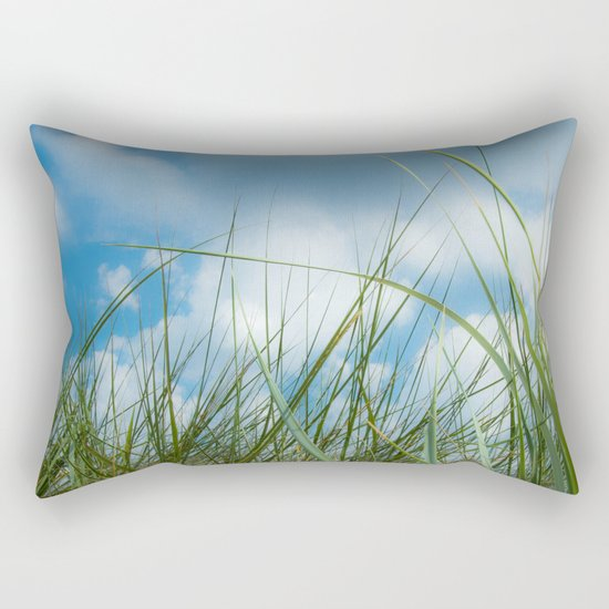 Dreaming in the grass pattern Rectangular Pillow
