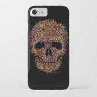 deadmau5 iPhone & iPod Cases featuring Acid Skull by Sitchko Igor