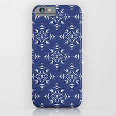 Paper Cut Snowflake Pattern iPhone 6s Slim Case