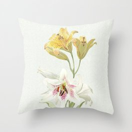 Lily meets Lilia Throw Pillow