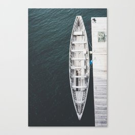 Fisherman's Boat Canvas Print
