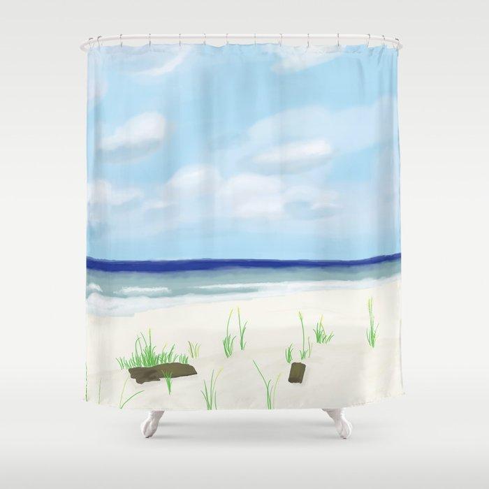 Gulf Shores Shower Curtain
