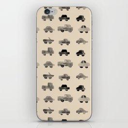 Trucks and Cars iPhone Skin