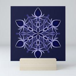Silver and Sapphires Mini Art Print