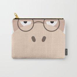Sluggish Hippo Carry-All Pouch