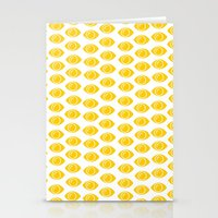 gumball Stationery Cards featuring Gumball Eyes by Shelby Thompson