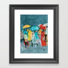Rainy Day Framed Art Print