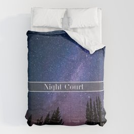 Night Court Comforters