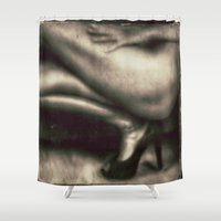 legs Shower Curtains featuring Legs by Jean-François Dupuis