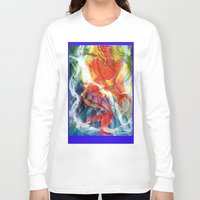 perfume Long Sleeve T-shirts featuring Perfume by Janet Morgan