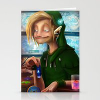 hyrule Stationery Cards featuring HYRULE CORP. by zero-scarecrow13