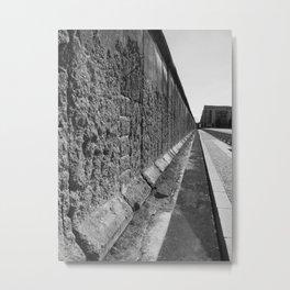 The Berlin Wall Metal Print