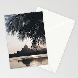 Lagoa in Rio de Janeiro, Brazil Stationery Cards