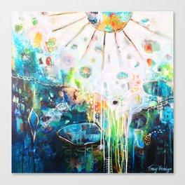 Light Spills in Canvas Print