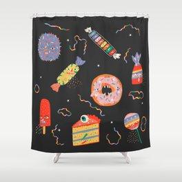SUGAR RUSH Shower Curtain