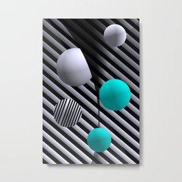 go turquoise -7- Metal Print