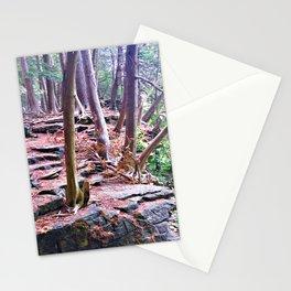 Woodland Rock Ledge Stationery Cards