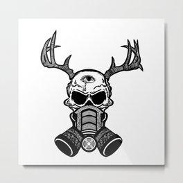 [nobody] Metal Print