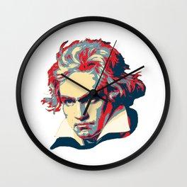 Beethoven Pop Art Wall Clock