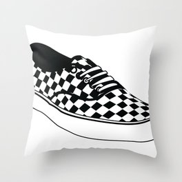 Vans Throw Pillow