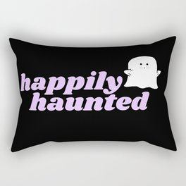 happily haunted Rectangular Pillow