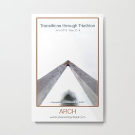 ARCH of Transitions through Triathlon Metal Print