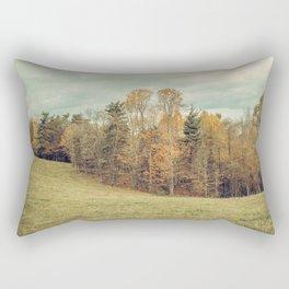 Autumn Landscape -- Blue Ridge Highlands Forest Rectangular Pillow