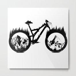 Enduro Bike Metal Print