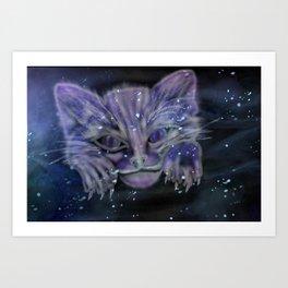Kitty Spirit Art Print