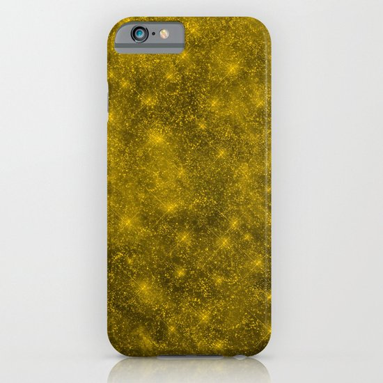 Sequin series gold iPhone & iPod Case