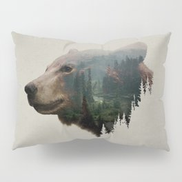 The Pacific Northwest Black Bear Pillow Sham