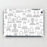 medical iPad Cases featuring Medical background by aleksander1