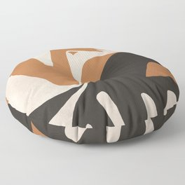 Abstract Art Figure Floor Pillow