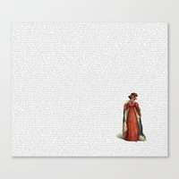 pride and prejudice Canvas Prints featuring Pride & Prejudice by Studio Fibonacci