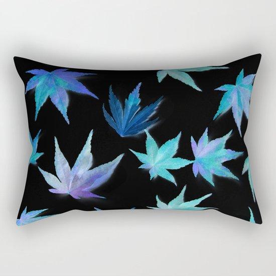 AUTUMN ROMANCE - LEAVES PATTERN #1 #decor #art #society6 Rectangular Pillow