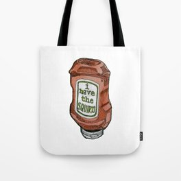 the squirts Tote Bag