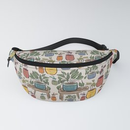 Plant Pattern, Potted, Plant Design  Fanny Pack