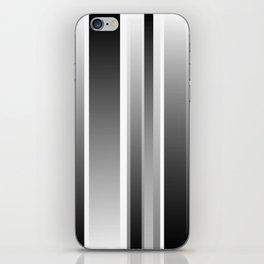 Color Black gray iPhone Skin