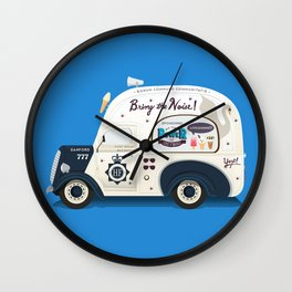 Ode To Cornetto Part 2 Wall Clock