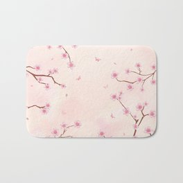 Cherry Blossom Dream Bath Mat
