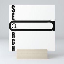 Search Mini Art Print